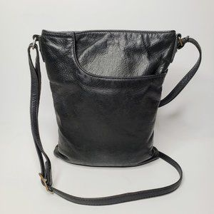 Anthropologie Margot Leather Crossbody Bag